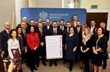 Grupa ENERIS wspólnie z Ministerstwem Rozwoju na rzecz realizacji celów zrównoważonego rozwoju ONZ