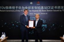 Rozwiązania 5G od Huawei jako pierwsze na świecie uzyskały certyfikat CE-TEC