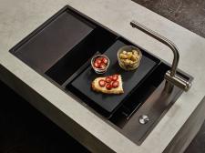 Zlewozmywak Frames by Franke w kolorze espresso – praktyczna przyjemność