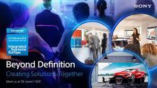 Sony na targach ISE 2018: wspólne tworzenie rozwiązań