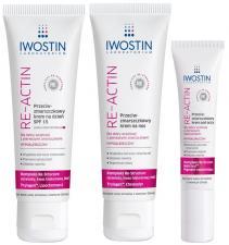 Nowość: IWOSTIN RE-ACTIN Innowacja dla skóry 30+