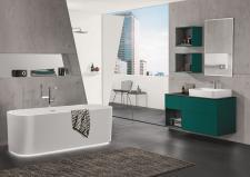Morska zieleń w łazienkach od Villeroy & Boch: banał staje się awangardą