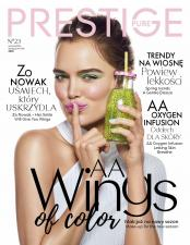 """Valkea przedstawia nową odsłonę  magazynu """"Pure Prestige"""" firmy Oceanic SA"""