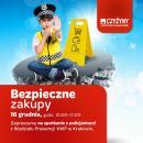 Bezpieczne zakupy przedświąteczne - prewencyjna akcja policji w Centrum Handlowym Czyżyny