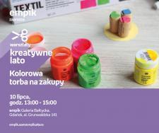 Kolorowa torba na zakupy | Empik Galeria Bałtycka