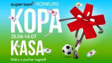 Konkurs Kopa Kasa. W Supersamie piłka w grze