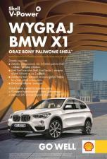 Zatankuj na Shell i wygraj nowe BMW X1!