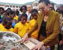 Omenaa Mensah rozpoczęła budowę szkoły w Ghanie!