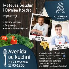 """Avenida od kuchni"" z Damianem Kordasem i Mateuszem Gesslerem"