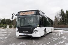 Testy elektrycznych autobusów Scania w ruchu miejskim