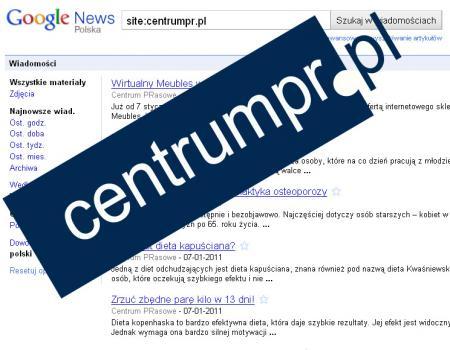 CentrumPR w Google News
