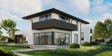 Kolorystyka elewacji nowoczesnego domu