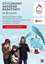 NoVa Park z zimową akcją rabatową