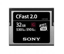Firma Sony uzupełnia ofertę profesjonalnych kart pamięci nową serią CFast