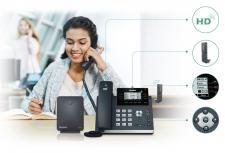 Nowy nabiurkowy telefon DECT Yealink W41P