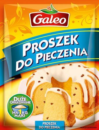 Proszek do pieczenia Galeo