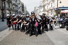 Zakończenie sezonu motocyklowego –  Port Łódź 14 października