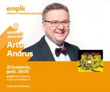 ARTUR ANDRUS - SPOTKANIE AUTORSKIE - ŁÓDŹ