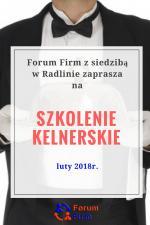Forum Firm zaprasza na warsztaty kelnerskie