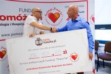 Ćwierć miliona dla Białostockiego Hospicjum dla Dzieci