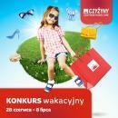 """Konkurs  """"Wakacje z CH Czyżyny"""" na Facebooku Centrum Handlowego Czyżyny"""