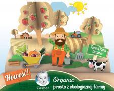 Linia ekologicznych produktów Gerber Organic