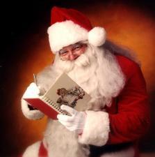 Święty Mikołaj w CH Europa II w Nowym Sączu