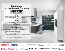 Häcker otwiera pierwszy salon w Warszawie!
