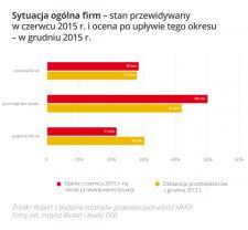 Małe firmy: II półrocze 2015 stabilne, ale...