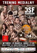 Trening medialny przed galą DSF Kickboxing Challenge odbędzie się w Wola Parku