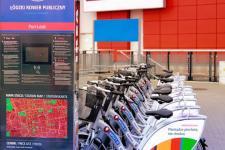 Rowery miejskie w Porcie Łódź