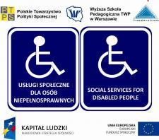 """Międzynarodowa Konferencja Naukowa """"Usługi społeczne dla osób niepełnosprawnych"""""""