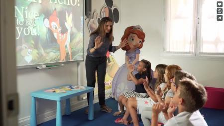 Lekcja metodą Disney English