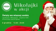 Na warsztaty i spotkanie z Mikołajem do Bonarki
