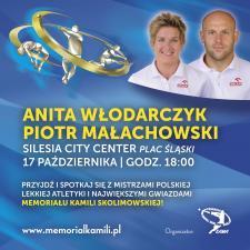Gwiazdy polskiej lekkoatletyki w Silesia City Center
