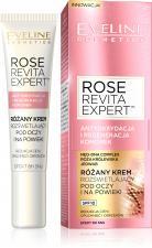 Eveline Cosmetics RÓŻANY KREM ROZŚWIETLAJĄCY POD OCZY I NA POWIEKI z serii ROSE REVITA EXPERT™