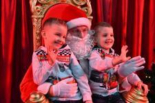 Święty Mikołaj odwiedził dzieci pracowników EKO-OKIEN S.A.