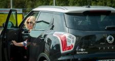 Kolejny rok ambasadorką popularnej marki samochodowej jest Joanna Kurowska