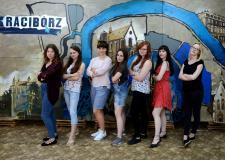 Pięciometrowym obrazem studenci PWSZ uczcili 800- lecie Raciborza