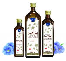 Olej lniany LenVitol – dodaj zdrowia do swoich dań