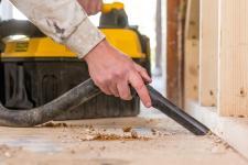 Sprzątanie miejsca pracy może wciągać – oto nowy odkurzacz  STANLEY FATMAX®!