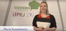 Marta Kuszakiewicz opowiada w Cooking Challenge jak lepiej żyć!