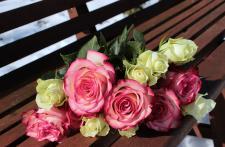 Walentynkowe kwiaty dla ukochanej