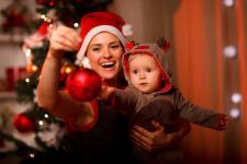 Maluszek też chce świętować Boże Narodzenie!