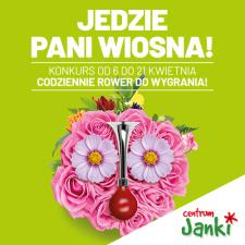 Weź udział w wiosennym konkursie i wygraj skuter VESPA od Centrum Janki