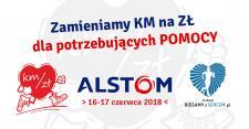 Alstom przekazał 63 000 złotych dla potrzebujących