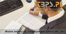 Ważne zmiany ws. podpisywania plików JPK VAT