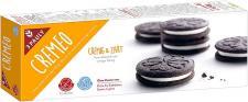 Intensywnie kakaowe i kusząco kremowe BEZGLUTENOWE CIASTECZKA CREMEO marki  3 PAULY