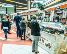 Zdrowe produkty na jarmarku w Porcie Łódź