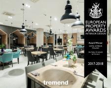 Tremend ponownie laureatem nagrody European Property Awards